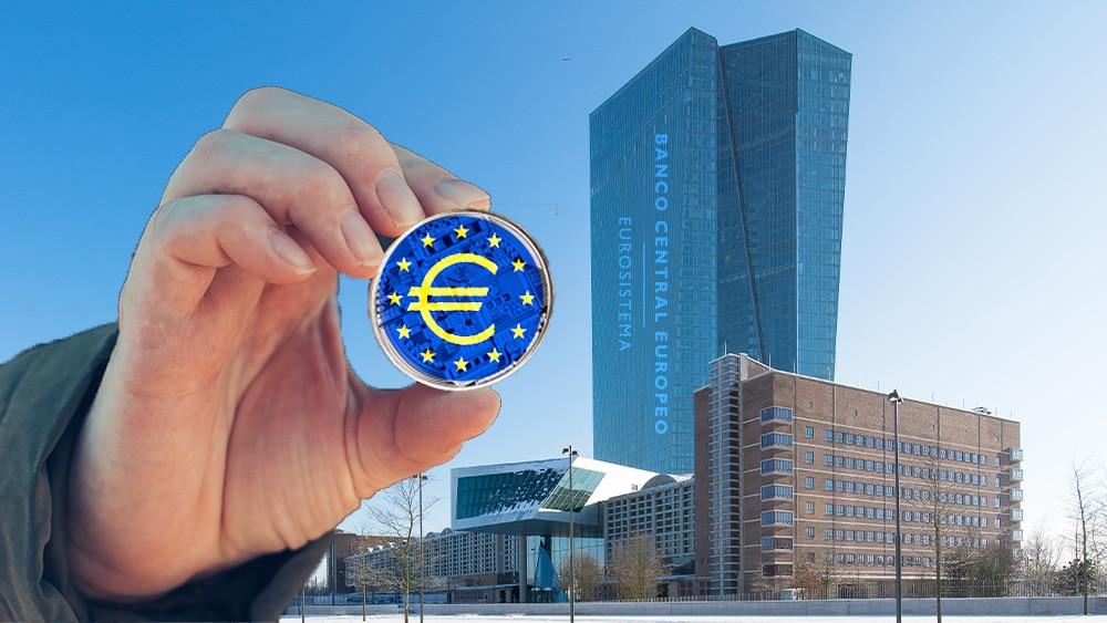 Edificio BCE y Euro Digital.