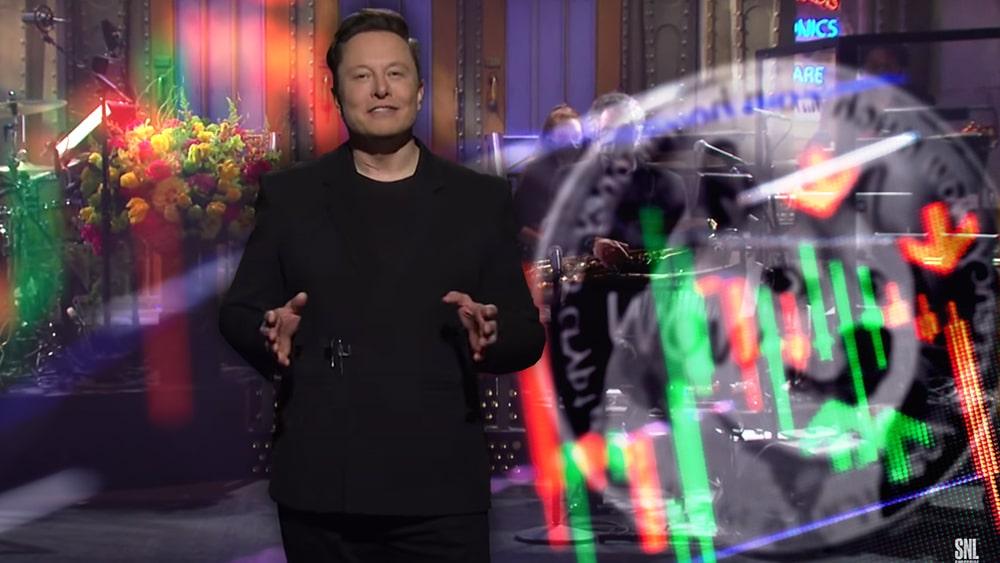 Elon Musk critica Dogecoin Saturday Night Live caida precio