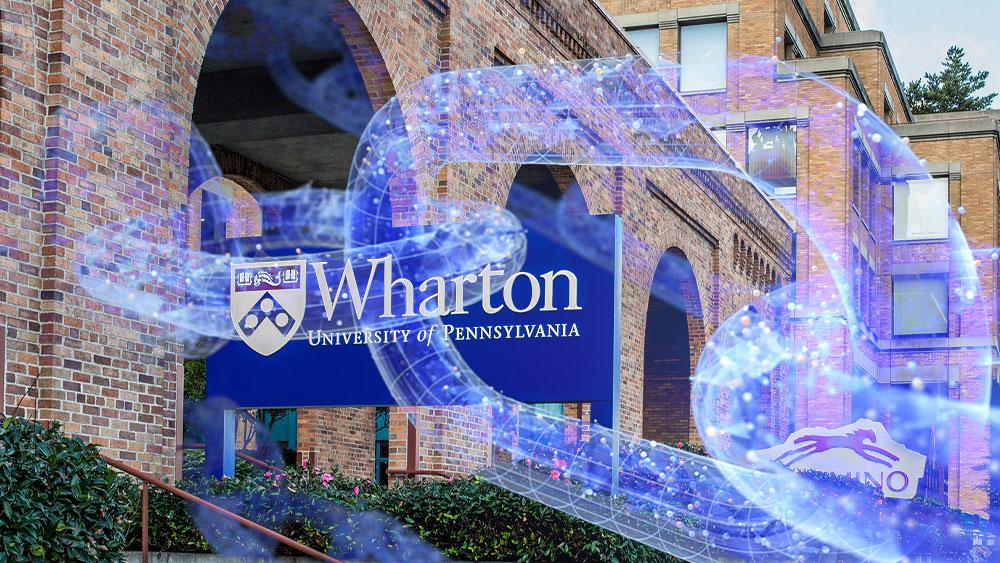 Wharton con blockchain.
