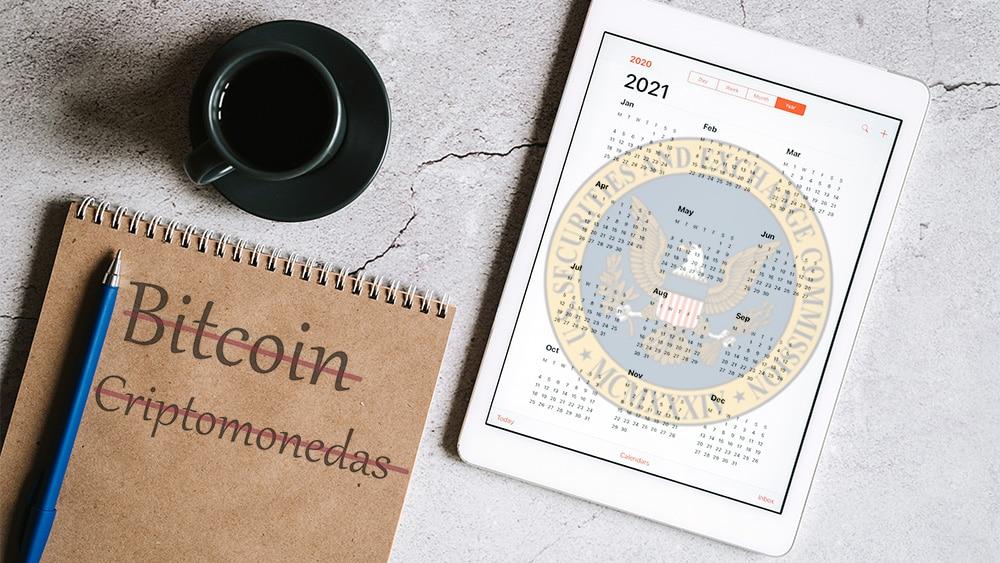 agenda SEC 2021 bitcoin criptomonedas