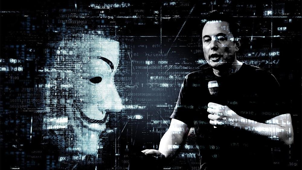 anonymous crítica elon musk criptomonedas