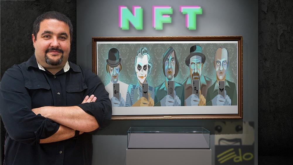 artista venezolno subasta NFT Selfish opensea