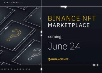 Poster de Binance NFT.