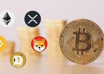 Bitcoin y altcoins.