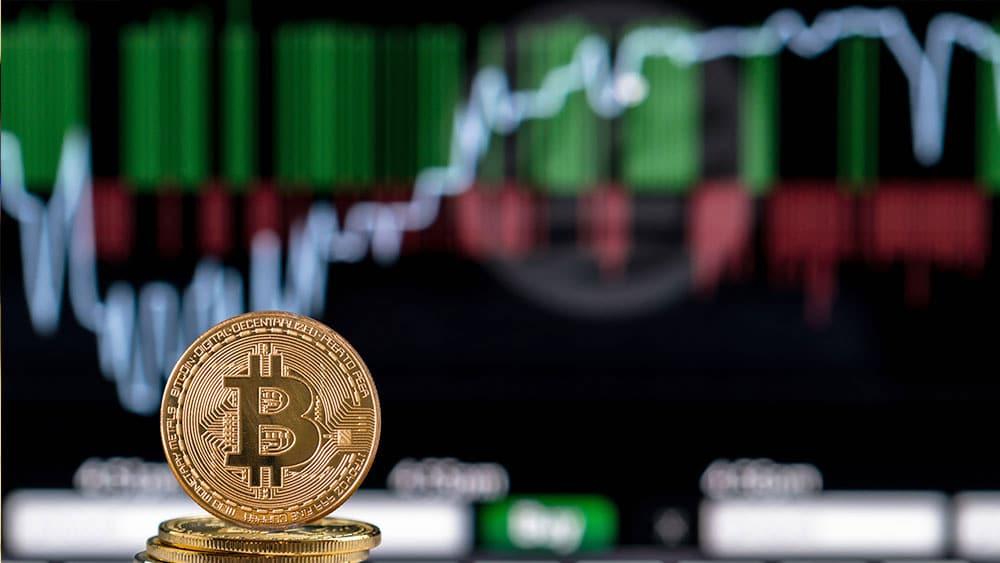 Bitcoin en alza.