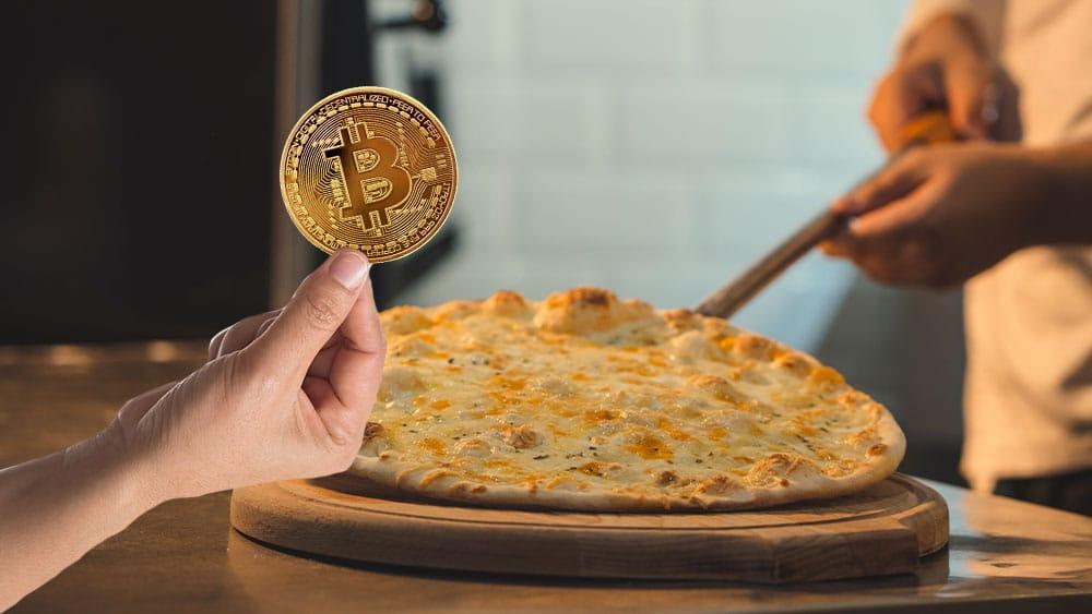 Pizza y bitcoin.