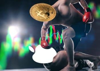 volumen comercio trading acciones apple cripotmoneda bitcoin