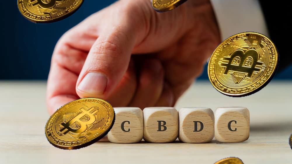 CBDC y bitcoins.