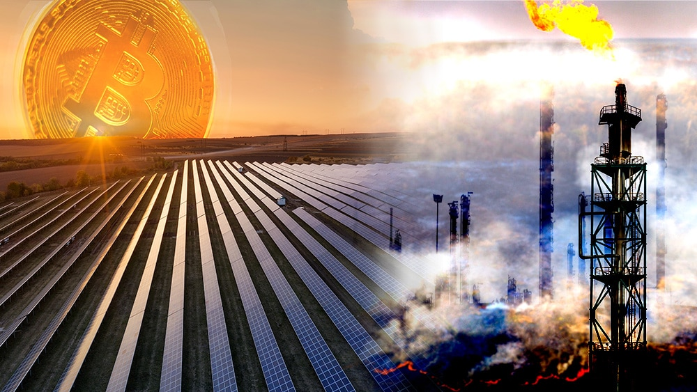 energpia renovable minería bitcoin consumo industra petroleo