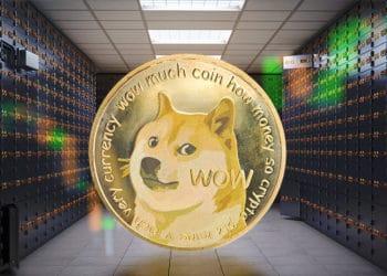 dogecoin supera capitalización Santander BNP Paribas Scotiabank