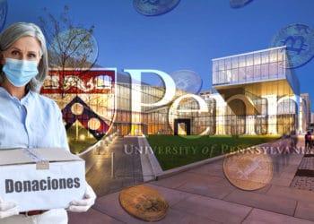 donaciones criptomonedas bitcoin universidad pennsilvania