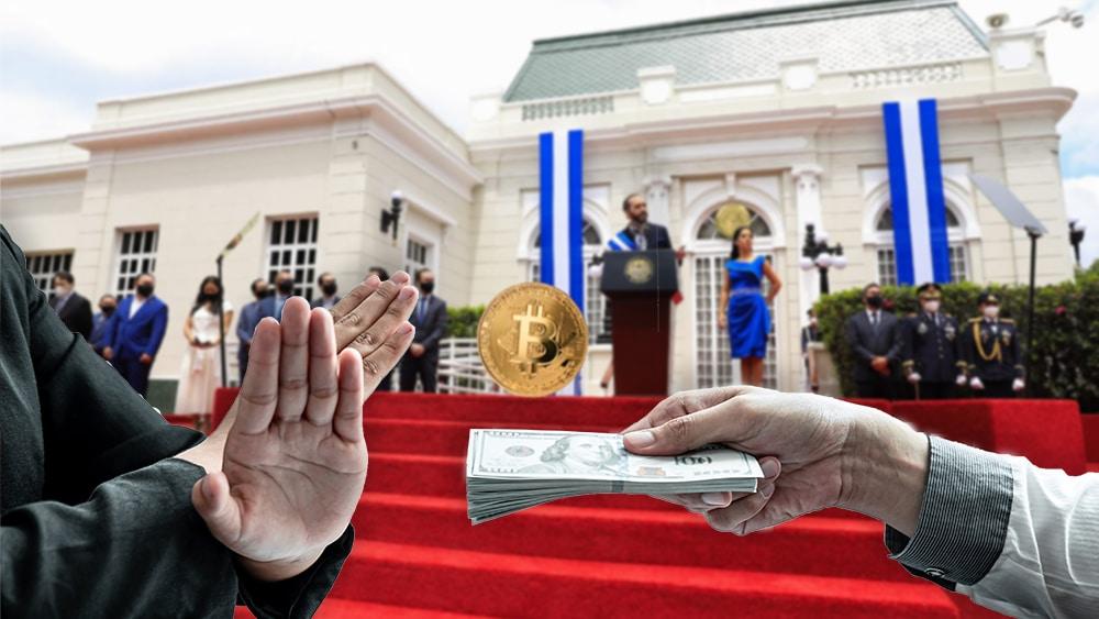 bloqueo económico el salvador adopción bitcoin criptomonedas