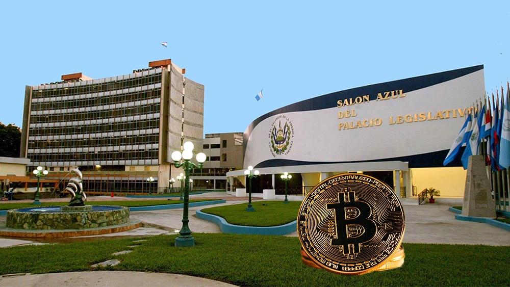 Asamblea de El Salvador y bitcoins.