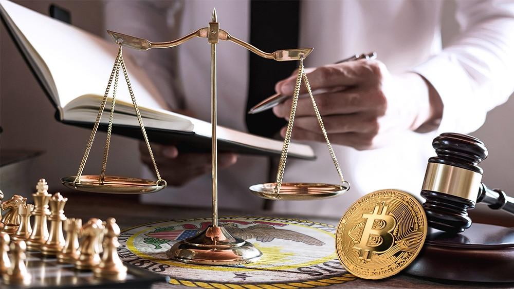 El estado de Illinois avanza en la carrera por aceptar bitcoin y otras criptomonedas en Estados Unidos. Composición por CriptoNoticias. LightFieldStudios / elements.envato.com; Illinois Secretary of State / wikipedia.org; twenty20photos / elements.envato.com.