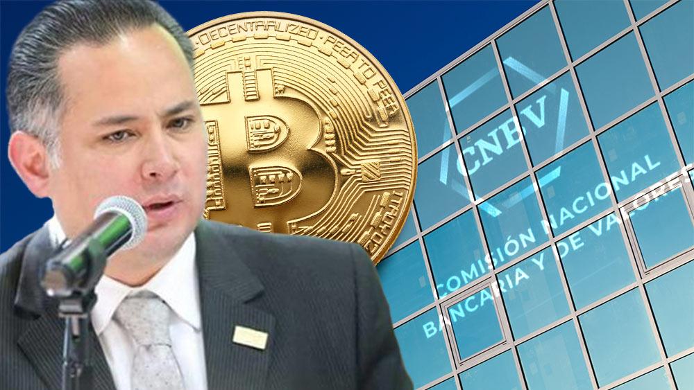 Santiago Nieto, CNBV y Bitcoin.