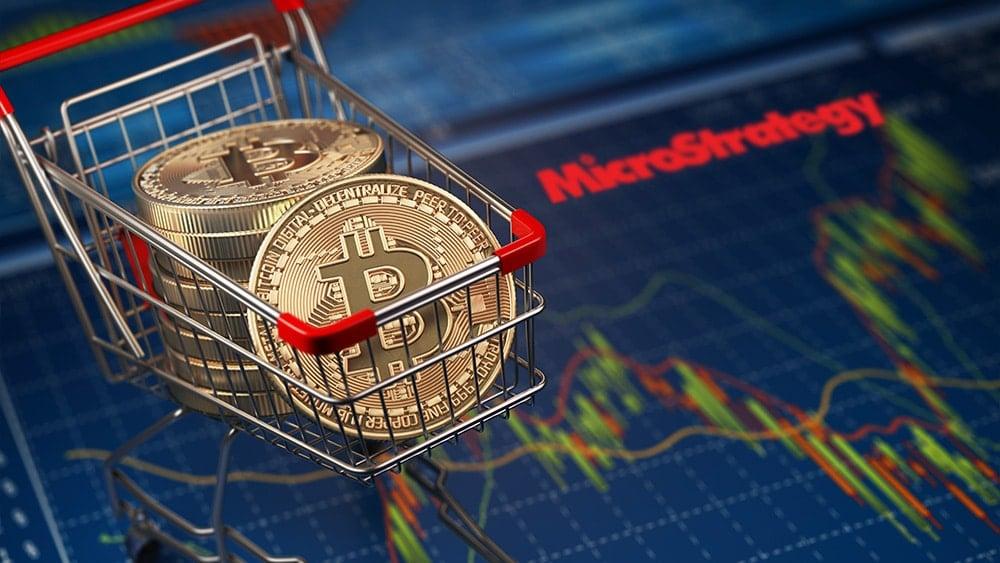 Microstrategy compra bitcoins.