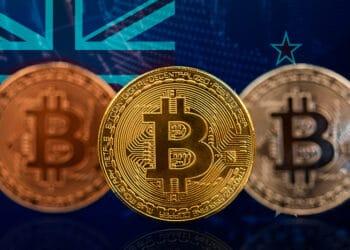 """Seguidores de la ONG señalan: """"Si bitcoin es una moneda extranjera por qué se trata como un valor"""". . Composición por CriptoNoticias Fuentes:  erika8213 /  elements.envato.com  ;  New Zealand  /  es.wikipedia.org ."""