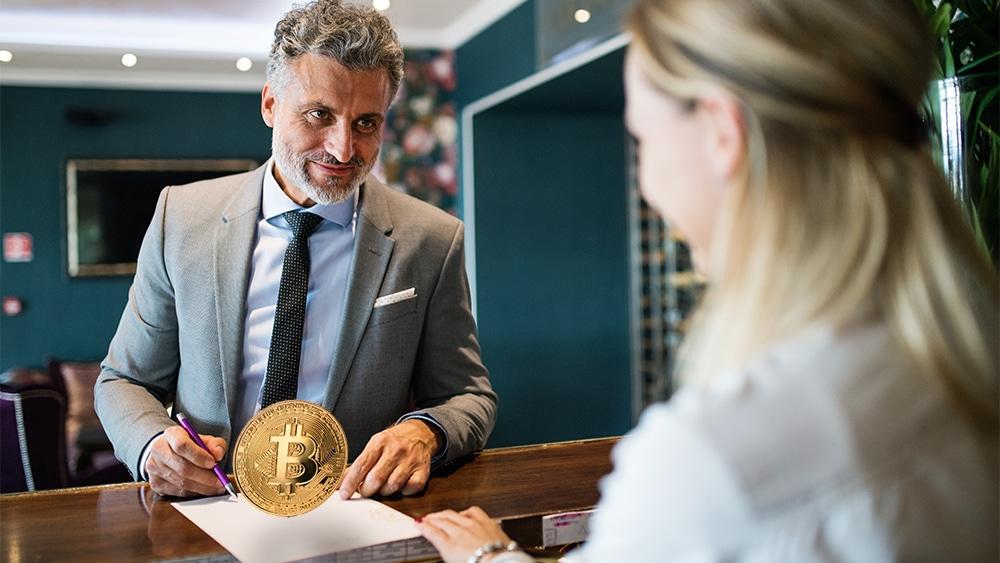 pagar estadia hoteles criptomonedas bitcoin binance