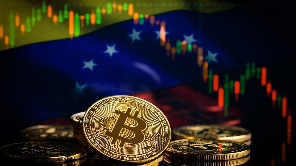 caida precio bitcoin pib venezuela
