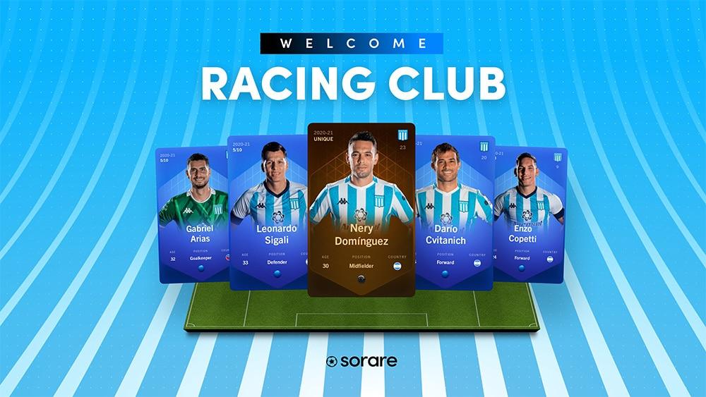 tokens coleccionable sorare equipo futbol argentina