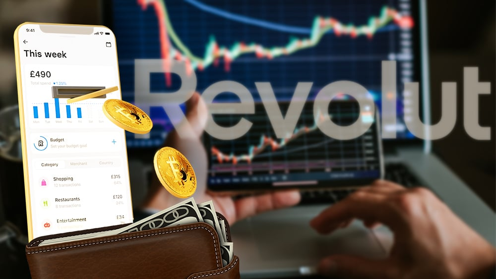 retiros criptomonedas aplicación pagos Revolut Reino Unido