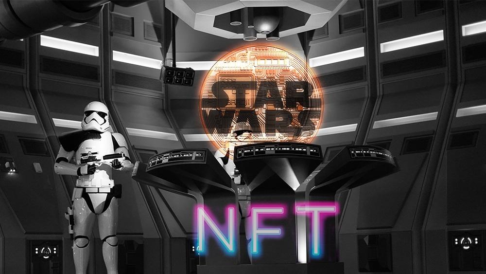 token coleccionable nft star wars