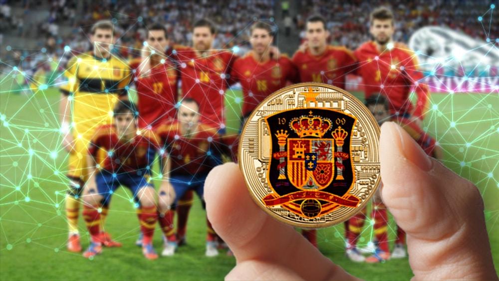 token selección futbol españa