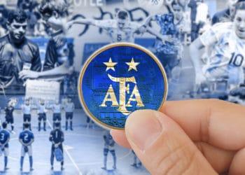 token Selección futbol Argentina