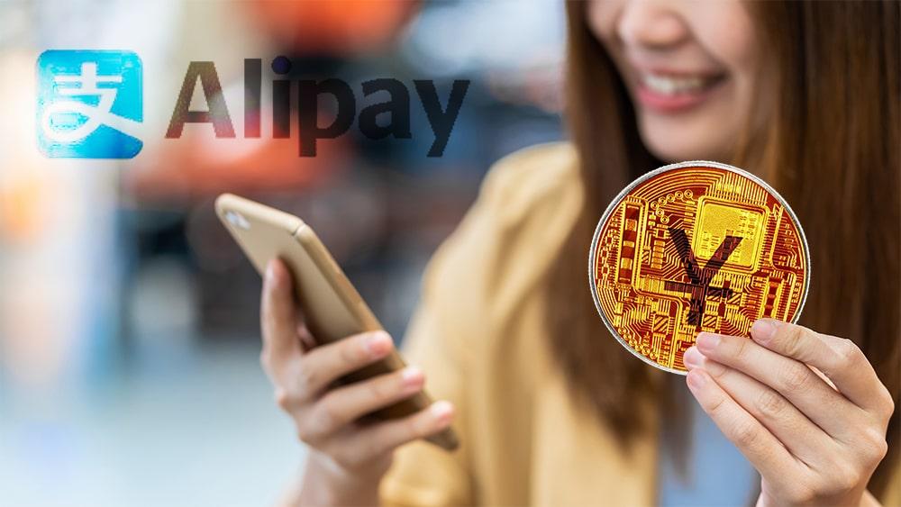 prueba pagos digitales yuan digital china alipay