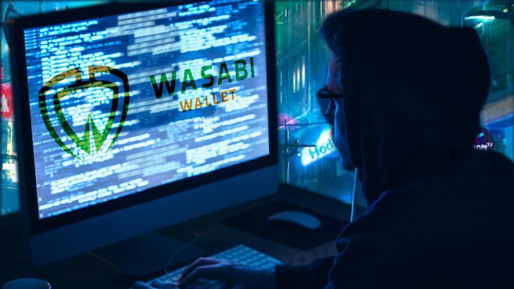 Hacker con Wasabi Wallet.