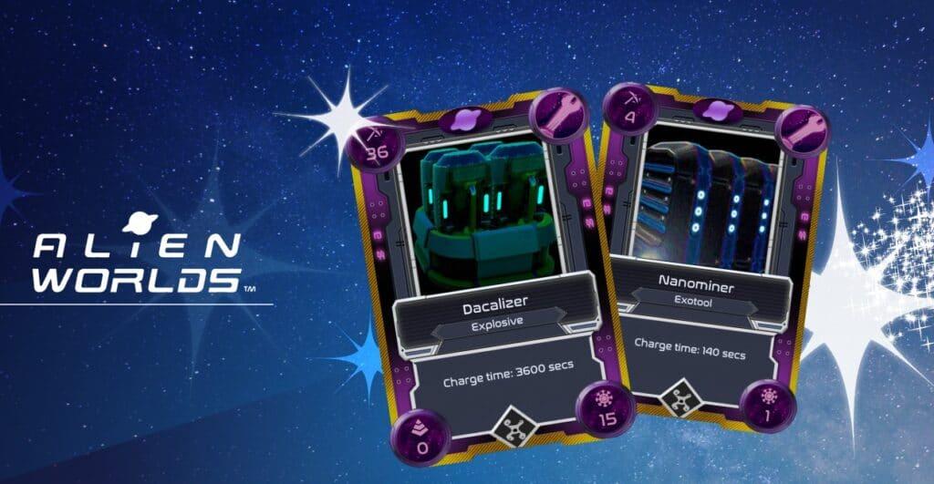 Alien Worlds - videojuegos para ganar criptomonedas