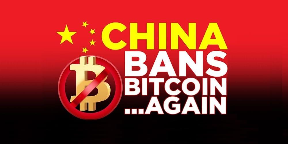 Moneda bitcoin prohibida en China otra vez