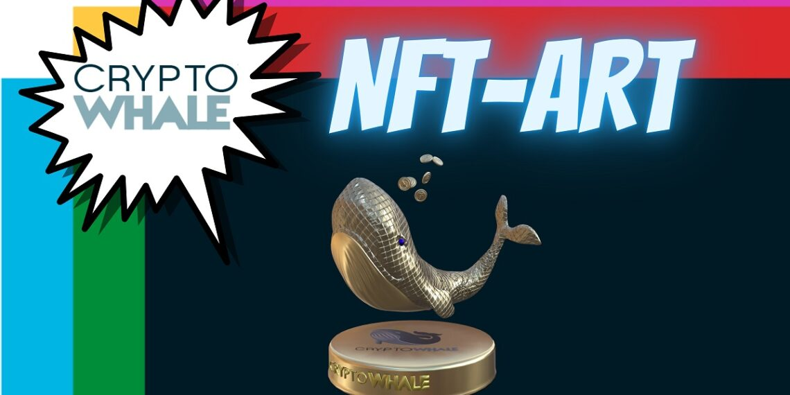 Venta de NFT de CryptoWhale