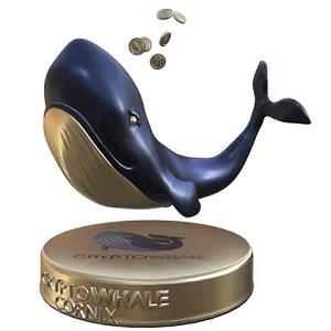 """NFT """"GoldenBaleen Whale"""" de CryptoWhale"""