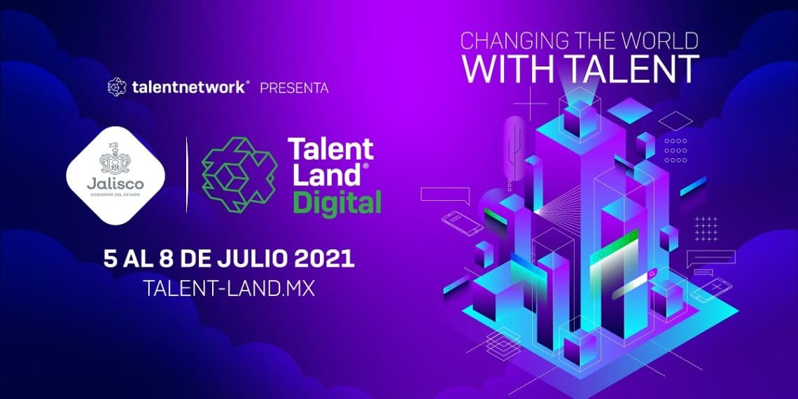 Pancarta del evento Jalisco Talent Land