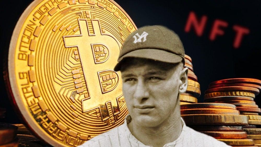 Lou Gehring y bitcoin con NFT.