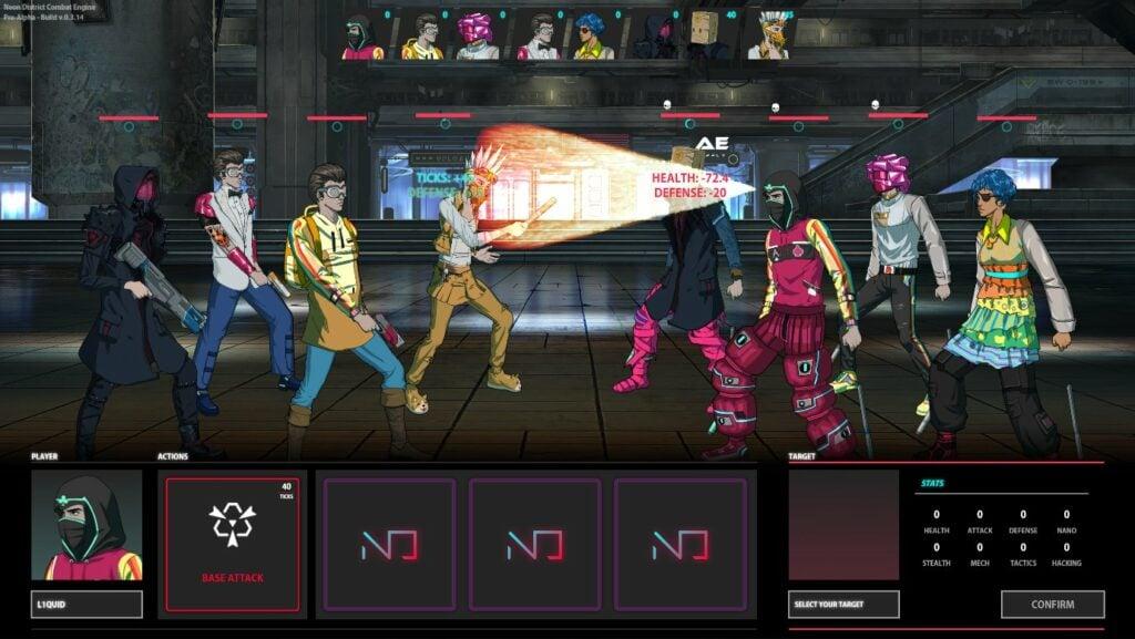 Neon District -videojuego para ganar NFT