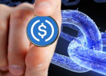 USDC y blockchain.