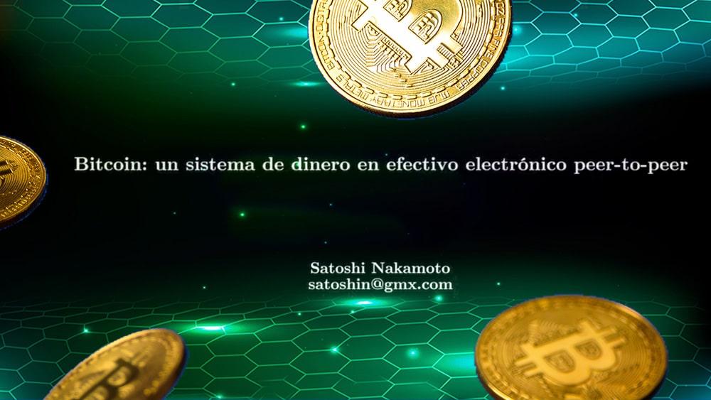 Frase de Satoshi con bitcoins y redes.