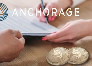 banca digital préstamos criptomonedas Anchorage Digital Ethereum