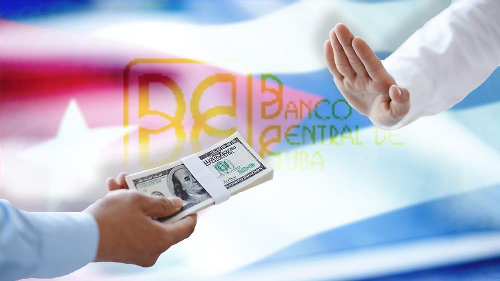 cuba suspende depósitos dólares efectivo
