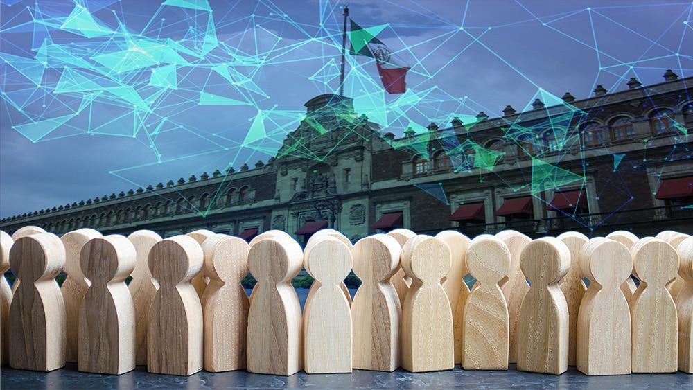 ciudadanía blockchain redes digitales mexico