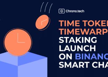 Token Time de Chrono.tech lanzado en Binance Smart Chain