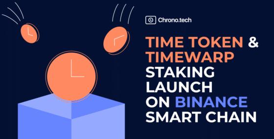 TimeWarp y TIME, el token nativo de Chrono.tech, se lanzan en Binance Smart Chain