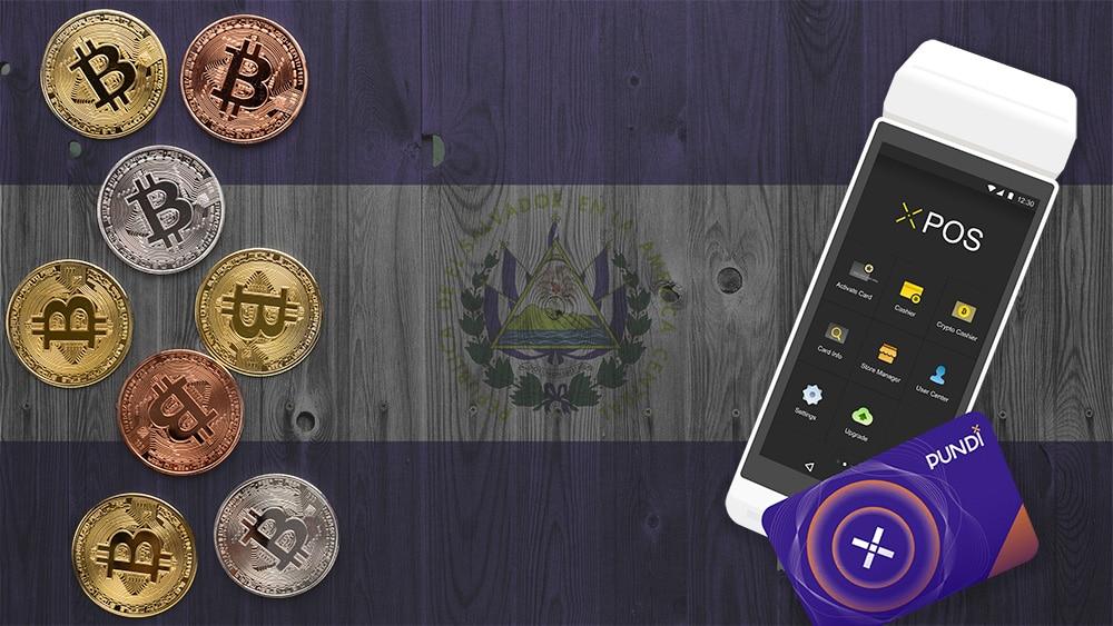 donacion puntos venta bitcoin pundi x el salvador