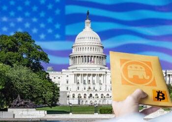 estados unidos donaciones congreso partido republicano criptomonedas bitcoin