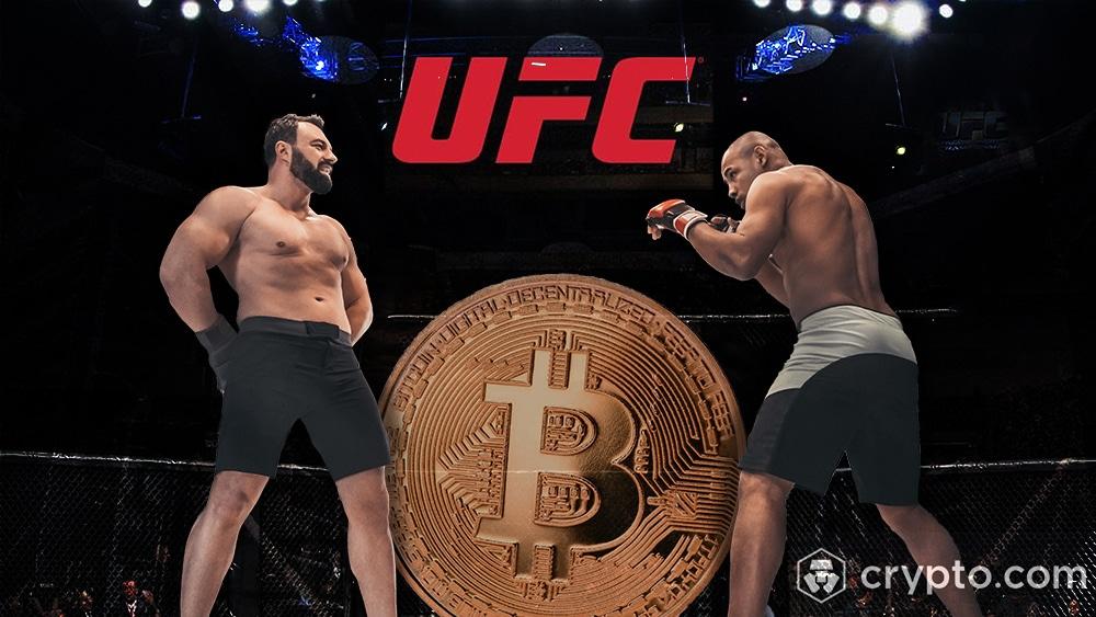 bitcoin criptomonedas pelean ufc crypto.com