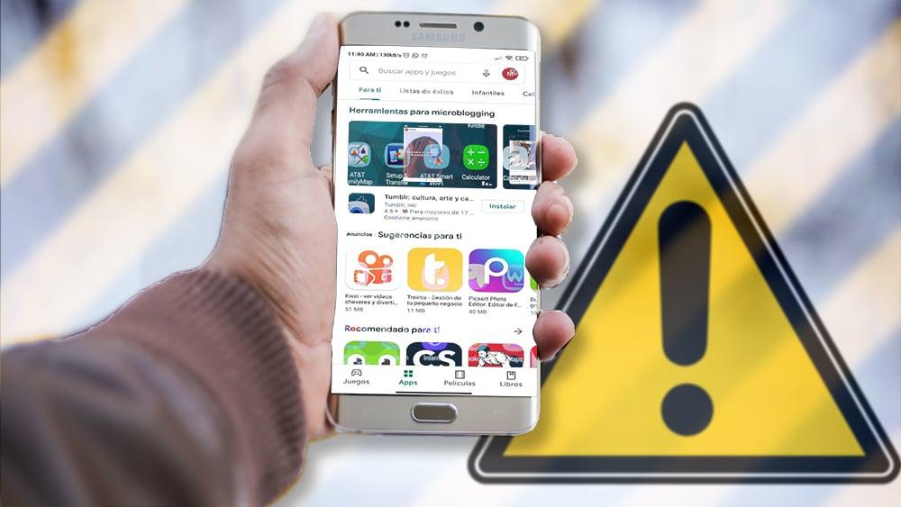aplicaciones móviles minería maliciosa google play store