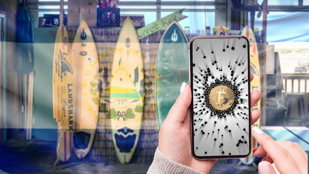 el salvador monederos bitcoin beach