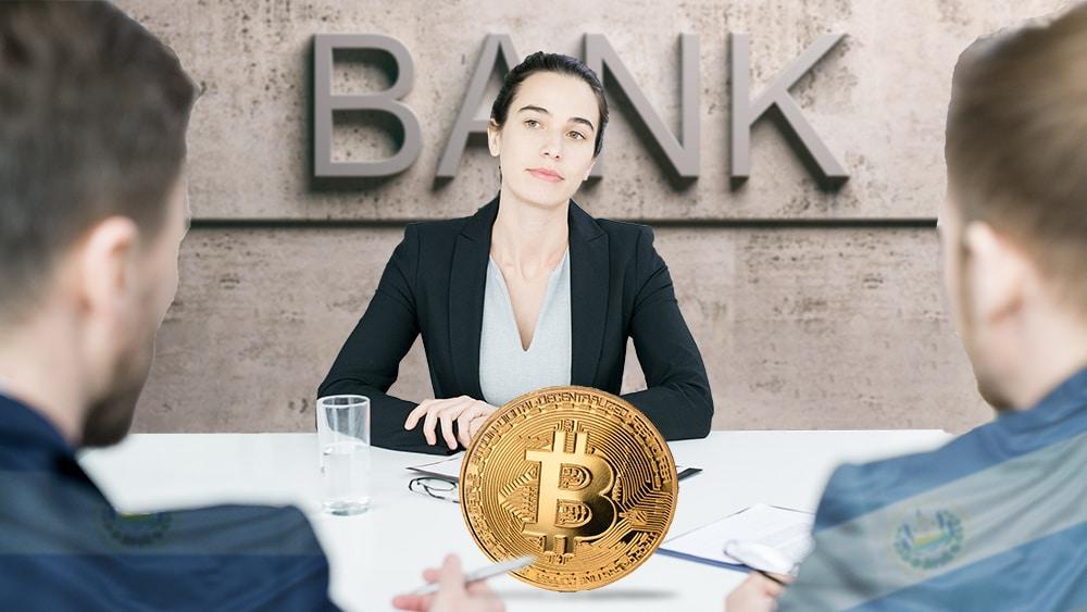el salvador bitcoin orientación bancos